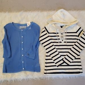 Lot of 2 Tommy Hilfiger Tops